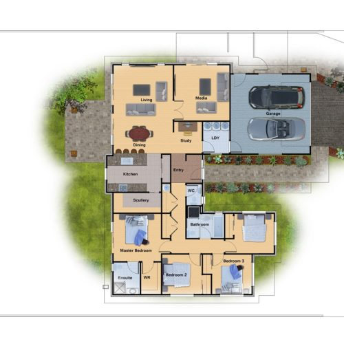 3D Renderings - image Site-Plan_02-500x500 on http://renderinghomes.com.au