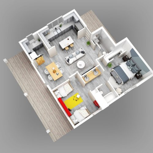 3D Renderings - image RA_Large-Home_04_HighRess-500x500 on http://renderinghomes.com.au