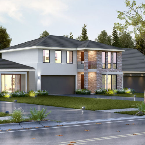 3D Architecture House Rendering Cost Design Exterior Visualization